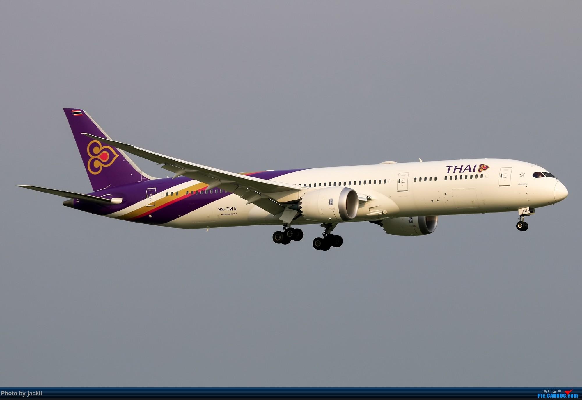 Re:[原创]【JackLi】泰国曼谷素万那普机场拍机~ BOEING 787-9 HS-TWA 泰国曼谷素万那普国际机场