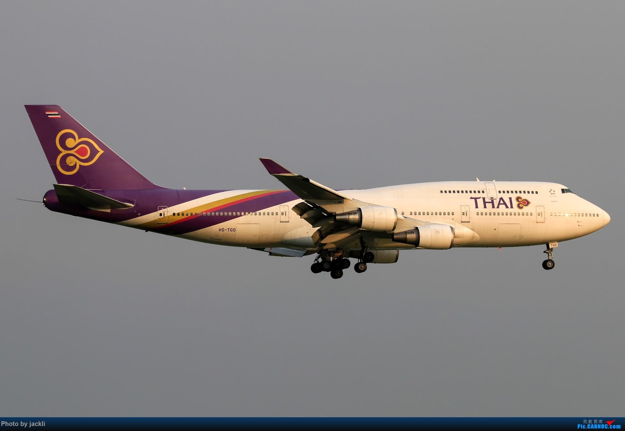 Re:[原创]【JackLi】泰国曼谷素万那普机场拍机~ BOEING 747-400 HS-TGO 泰国曼谷素万那普国际机场