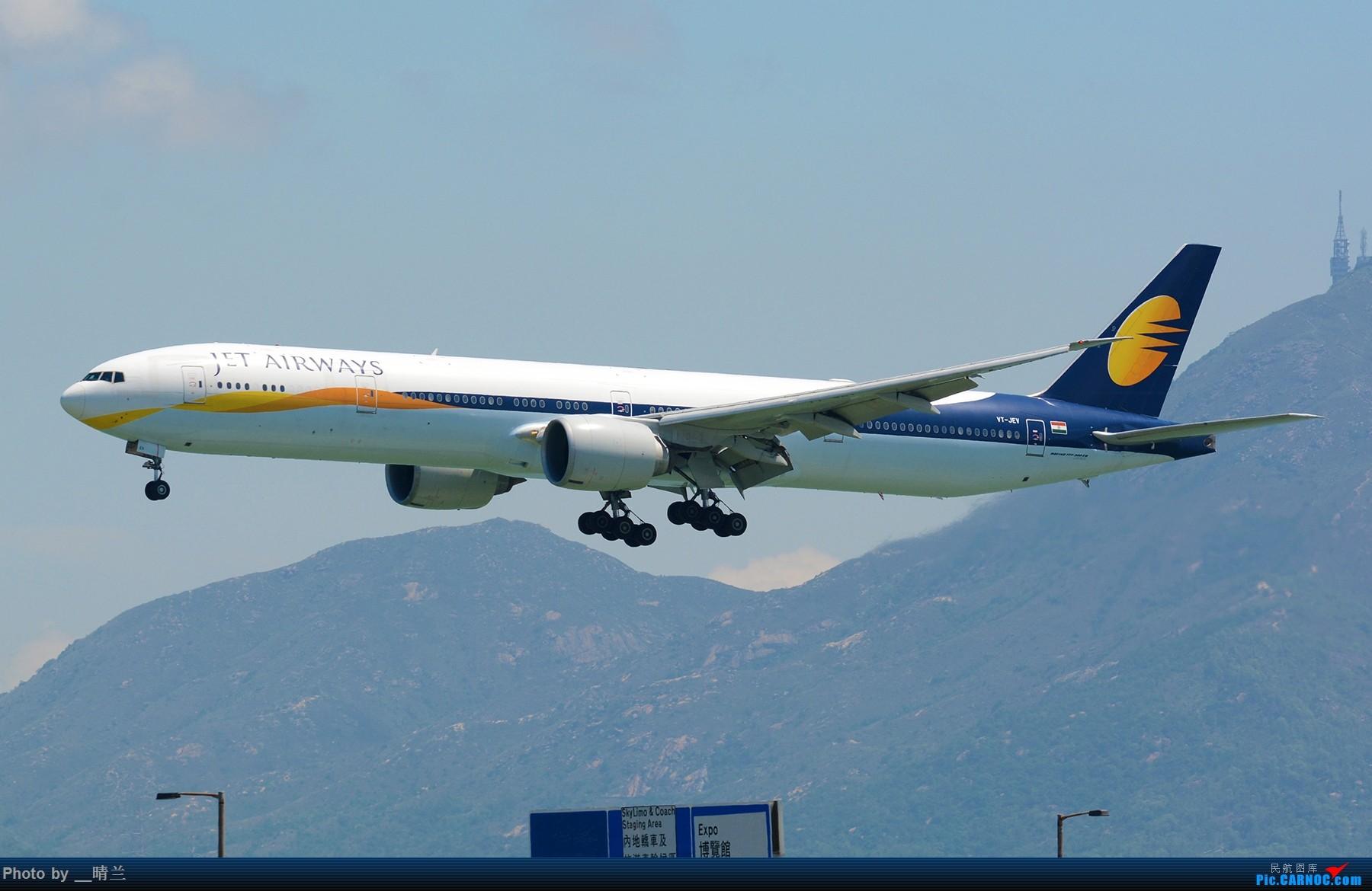 [原创]上不去的HKG观景台... BOEING 777-300ER VT-JEV 中国香港国际机场