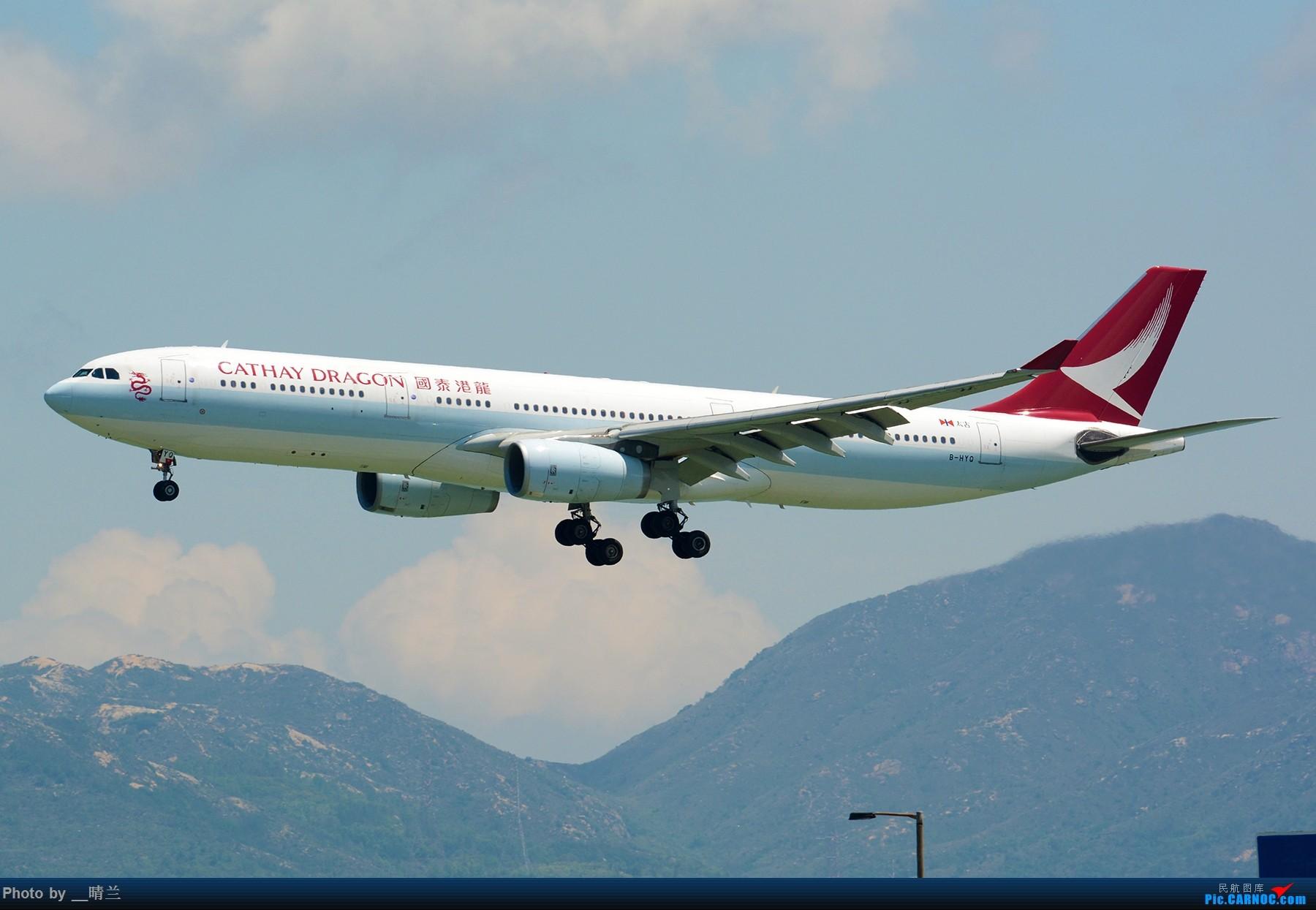 Re:[原创]上不去的HKG观景台... AIRBUS A330-300 B-HYQ 中国香港国际机场