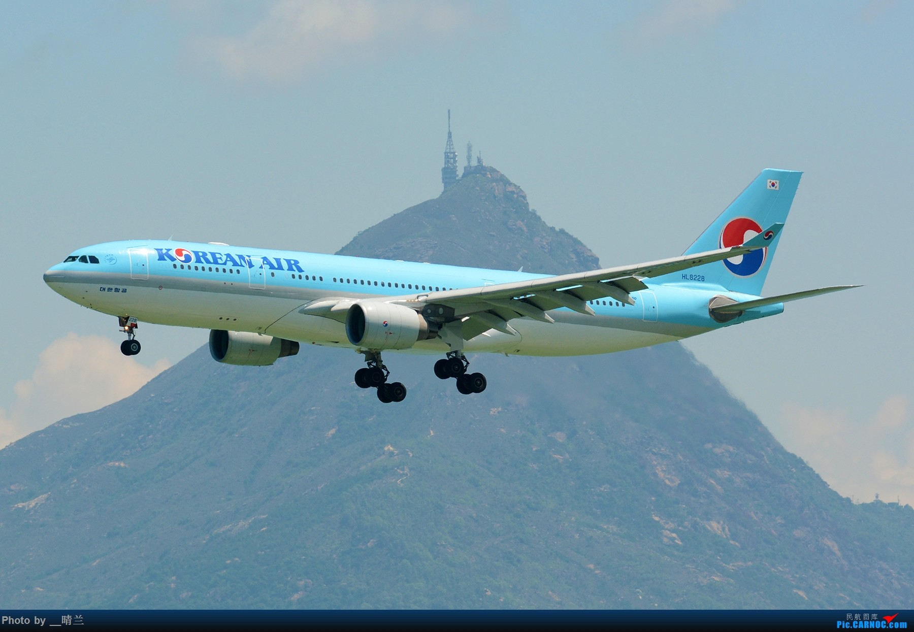 Re:[原创]上不去的HKG观景台... AIRBUS A330-200 HL8228 中国香港国际机场