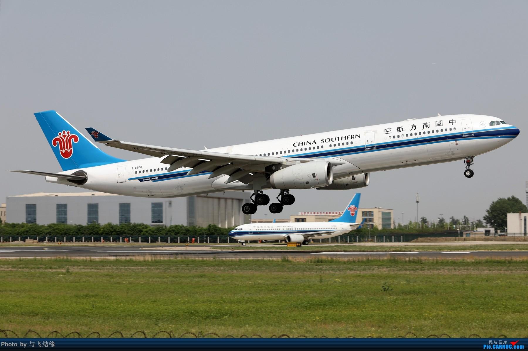 Re:[原创]中国南方航空专辑图一组! AIRBUS A330-300 B-6502 中国北京首都国际机场