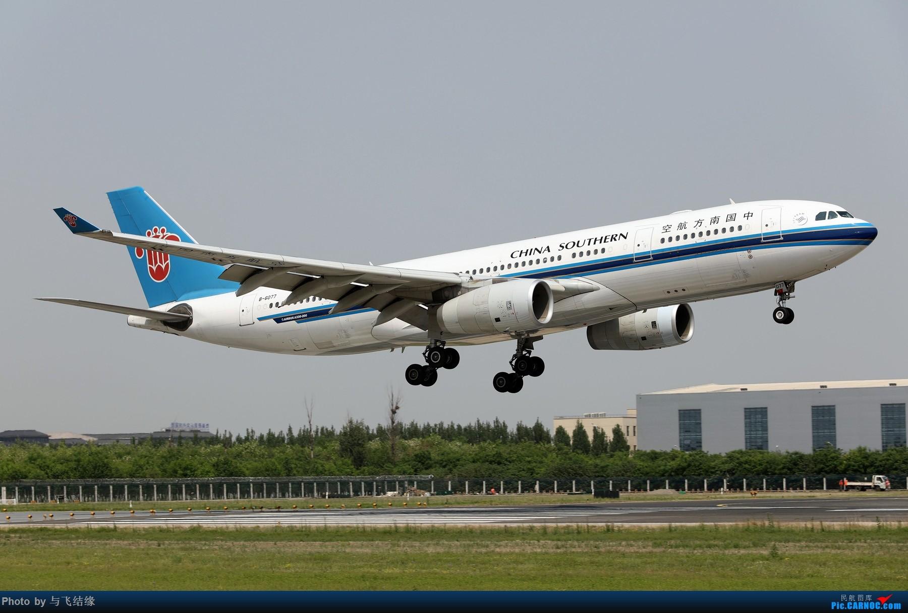 Re:[原创]中国南方航空专辑图一组! AIRBUS A330-200 B-6077 中国北京首都国际机场