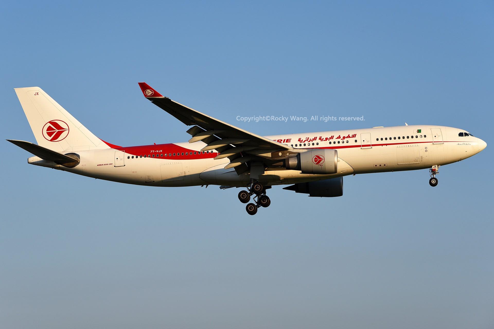 Re:[原创]A330s Around the World AIRBUS A330-202 7T-VJX 加拿大蒙特利尔特鲁多机场