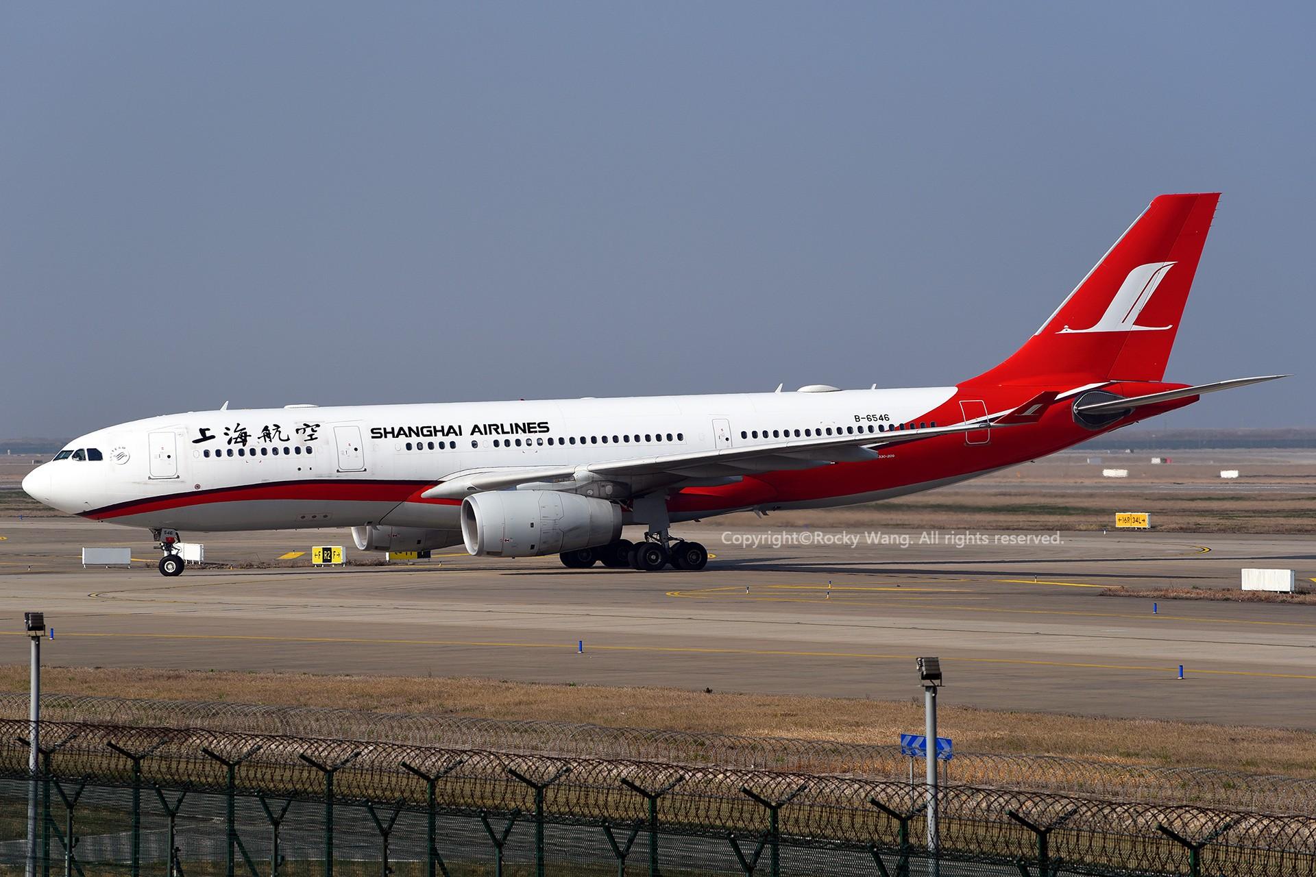 Re:[原创]A330s Around the World AIRBUS A330-200 B-6546 中国上海浦东国际机场