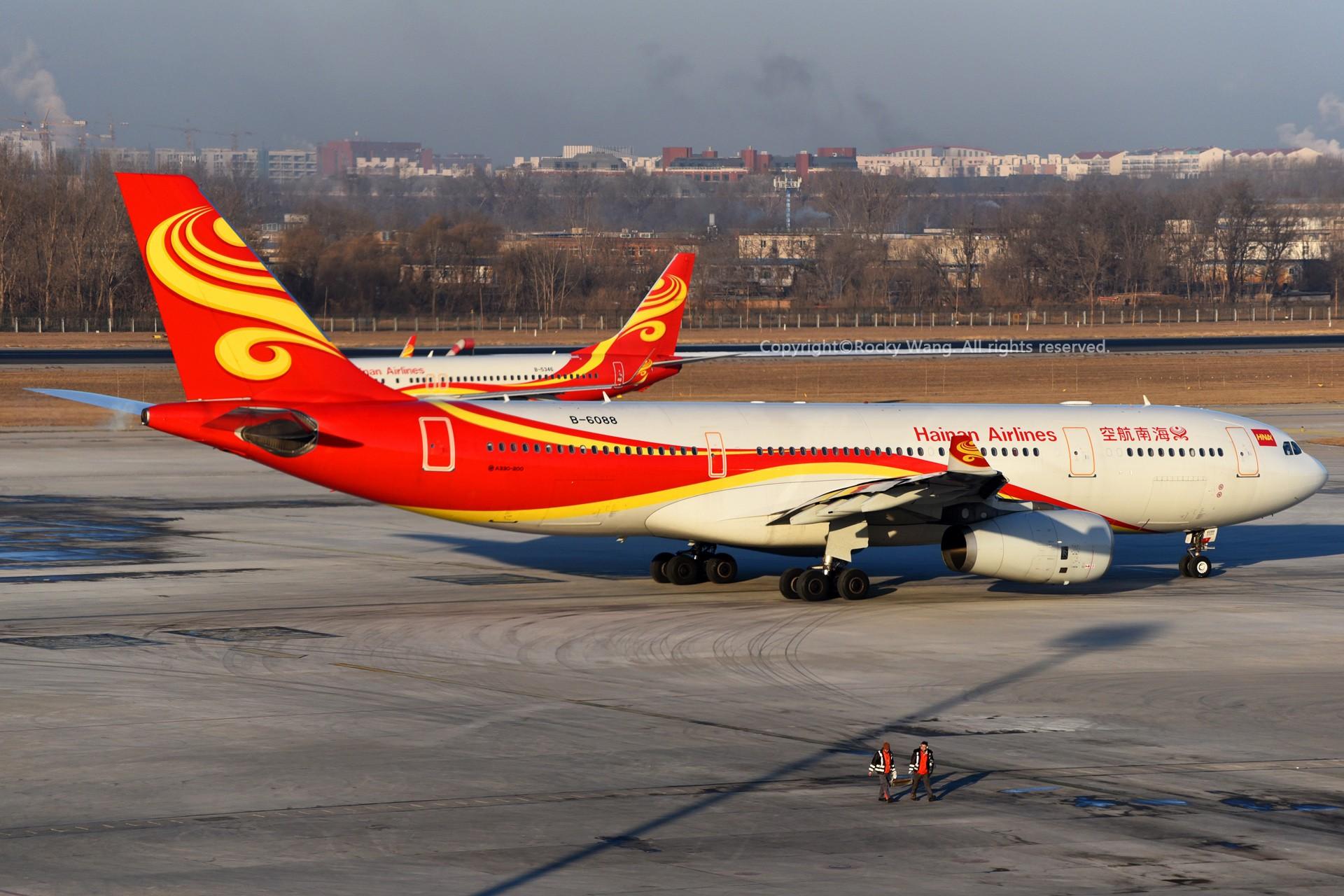 Re:[原创]A330s Around the World AIRBUS A330-200 B-6088 中国北京首都国际机场