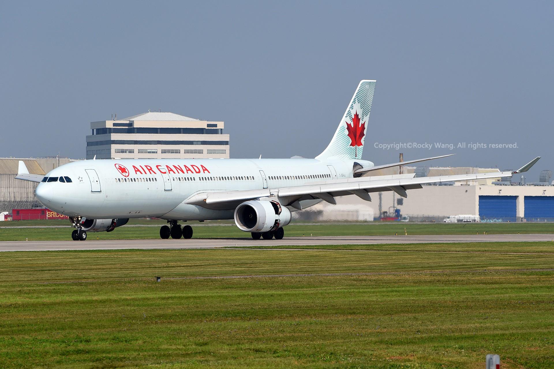Re:[原创]A330s Around the World AIRBUS A330-343 C-GFAJ 加拿大蒙特利尔特鲁多机场