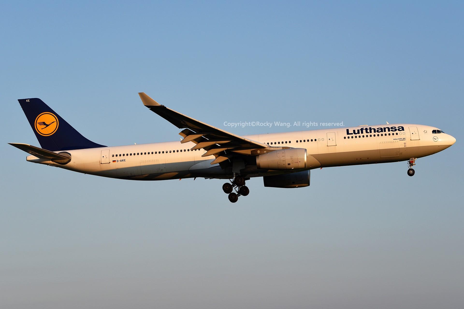 Re:[原创]A330s Around the World AIRBUS A330-343 D-AIKE 加拿大蒙特利尔特鲁多机场