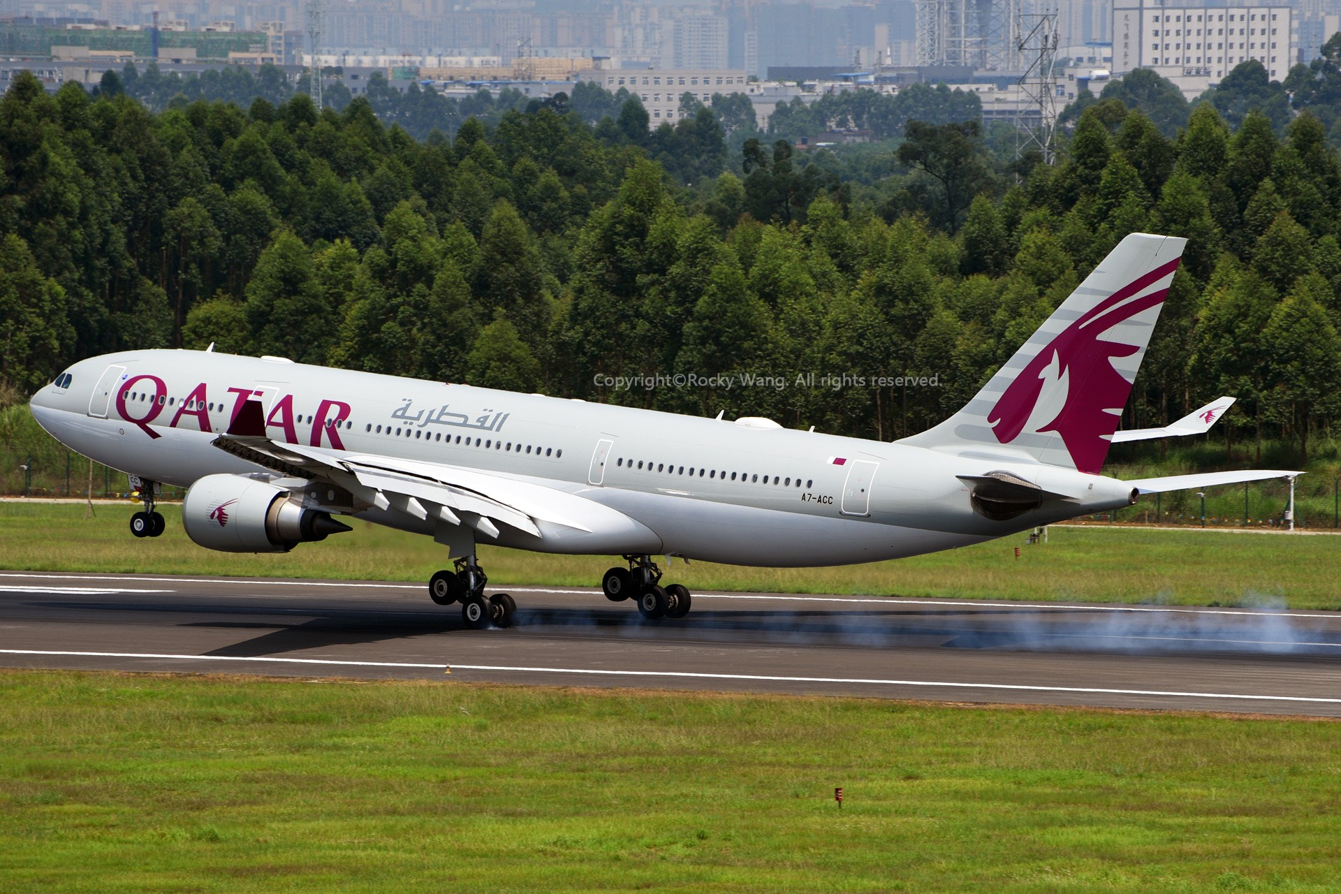 Re:[原创]A330s Around the World AIRBUS A330-203 A7-ACC 中国成都双流国际机场