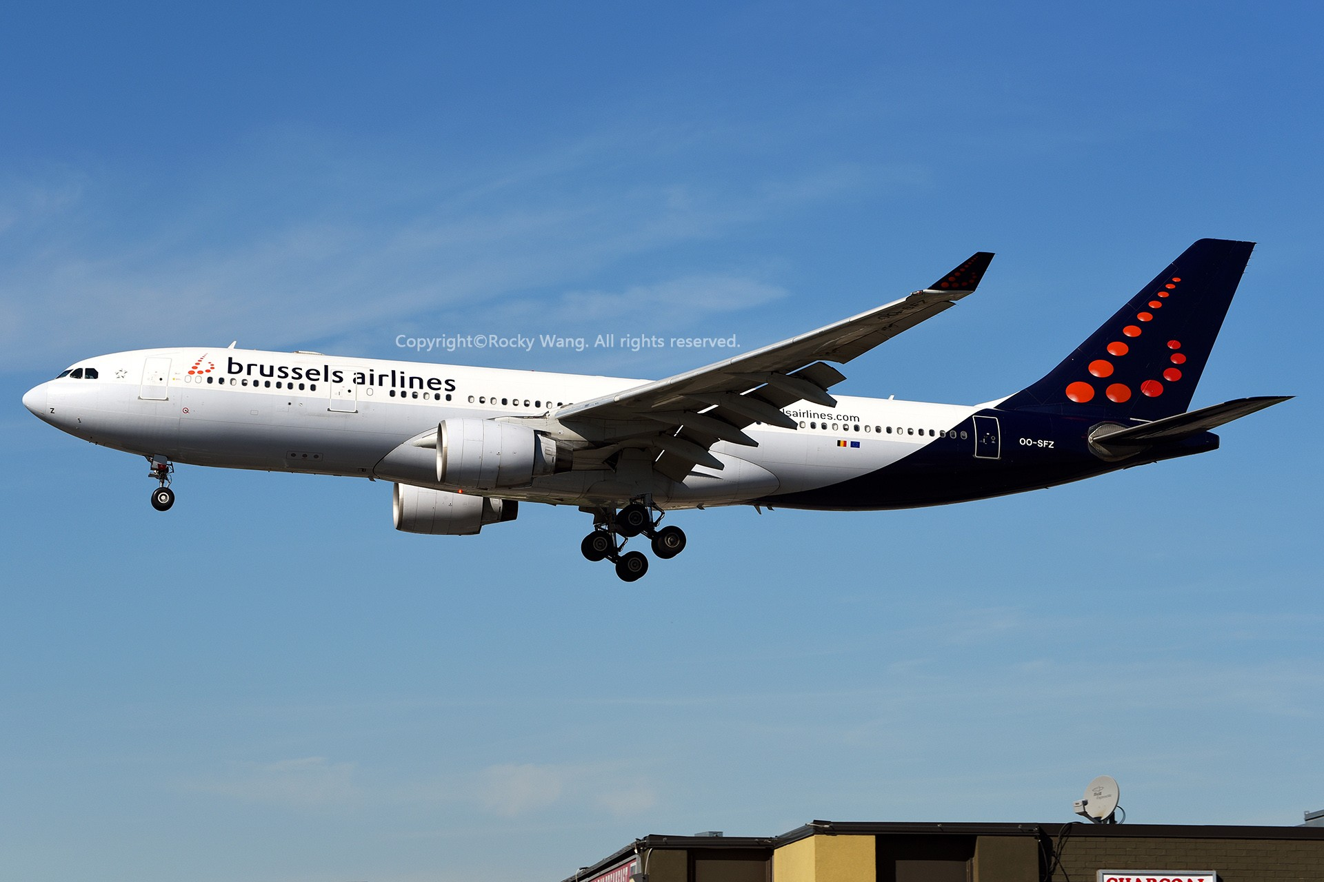 Re:[原创]A330s Around the World AIRBUS A330-223 OO-SFZ 加拿大多伦多皮尔逊机场