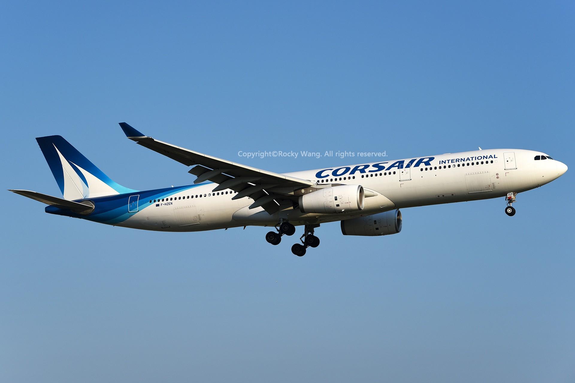 Re:[原创]A330s Around the World AIRBUS A330-343 F-HZEN 加拿大蒙特利尔特鲁多机场