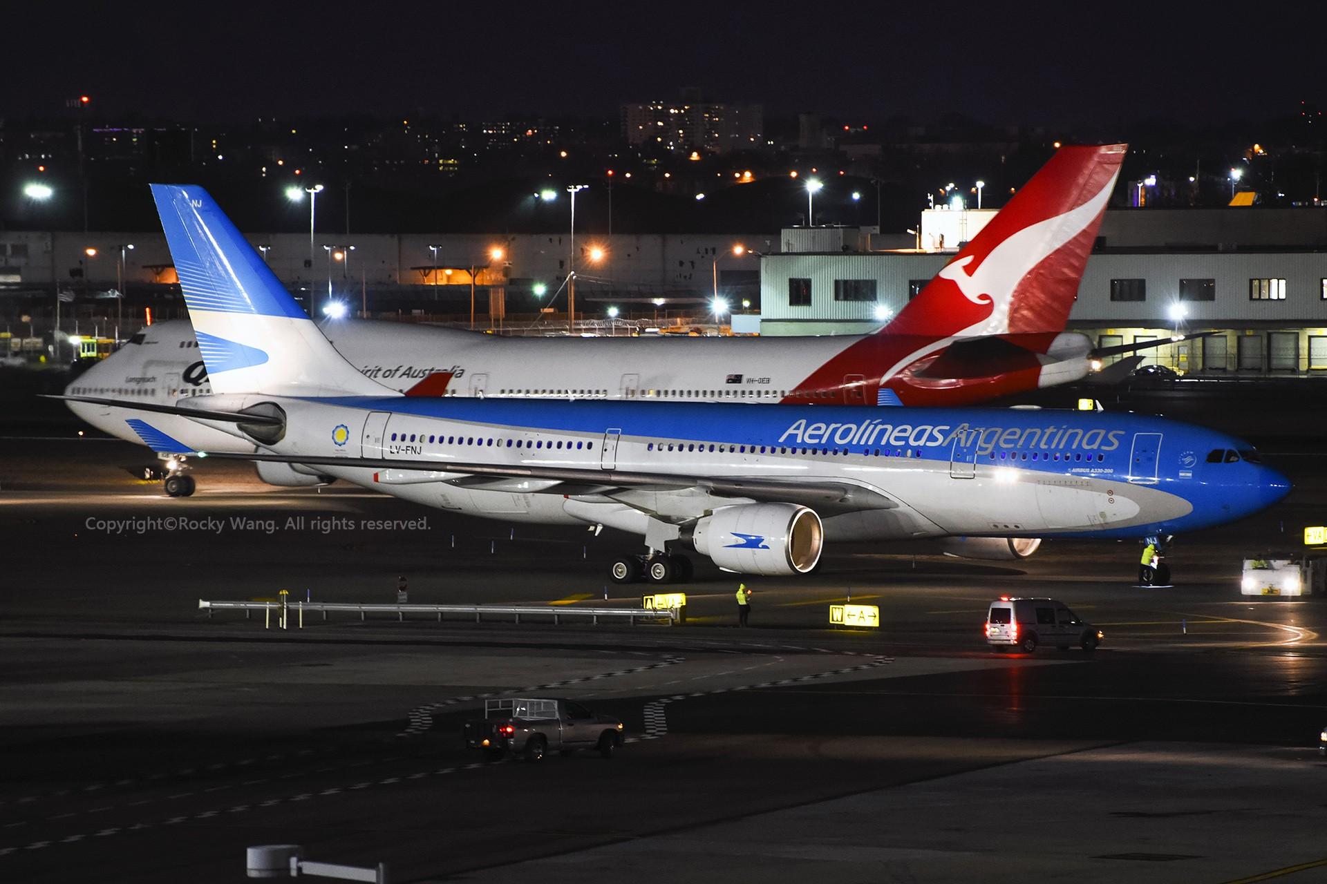 Re:[原创]A330s Around the World AIRBUS A330-223 LV-FNJ 美国纽约约翰·菲茨杰拉德·肯尼迪国际机场