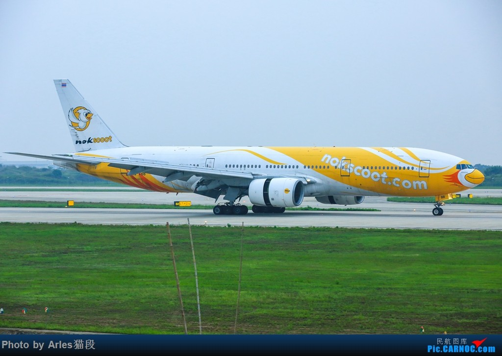 "Re:[原创]时隔两年再次来到NKG二跑""打飞机"" BOEING 777-200 HS-XBB 中国南京禄口国际机场"