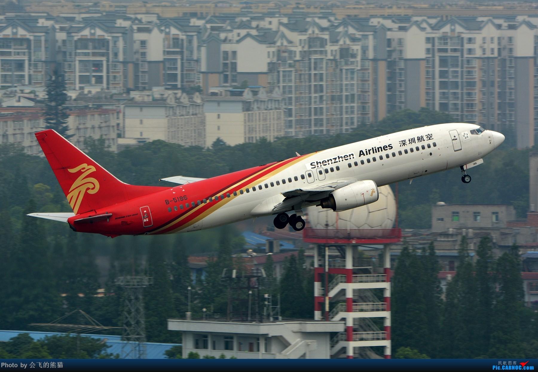 Re:[原创]勒是成都 BOEING 737-800 B-5186 中国成都双流国际机场