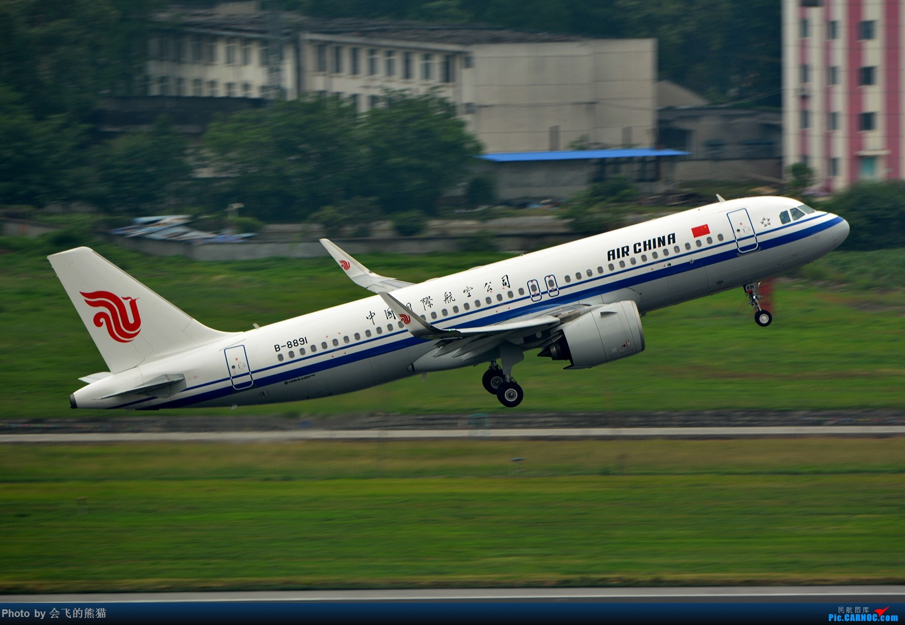 Re:[原创]勒是成都 AIRBUS A320NEO B-8891 中国成都双流国际机场
