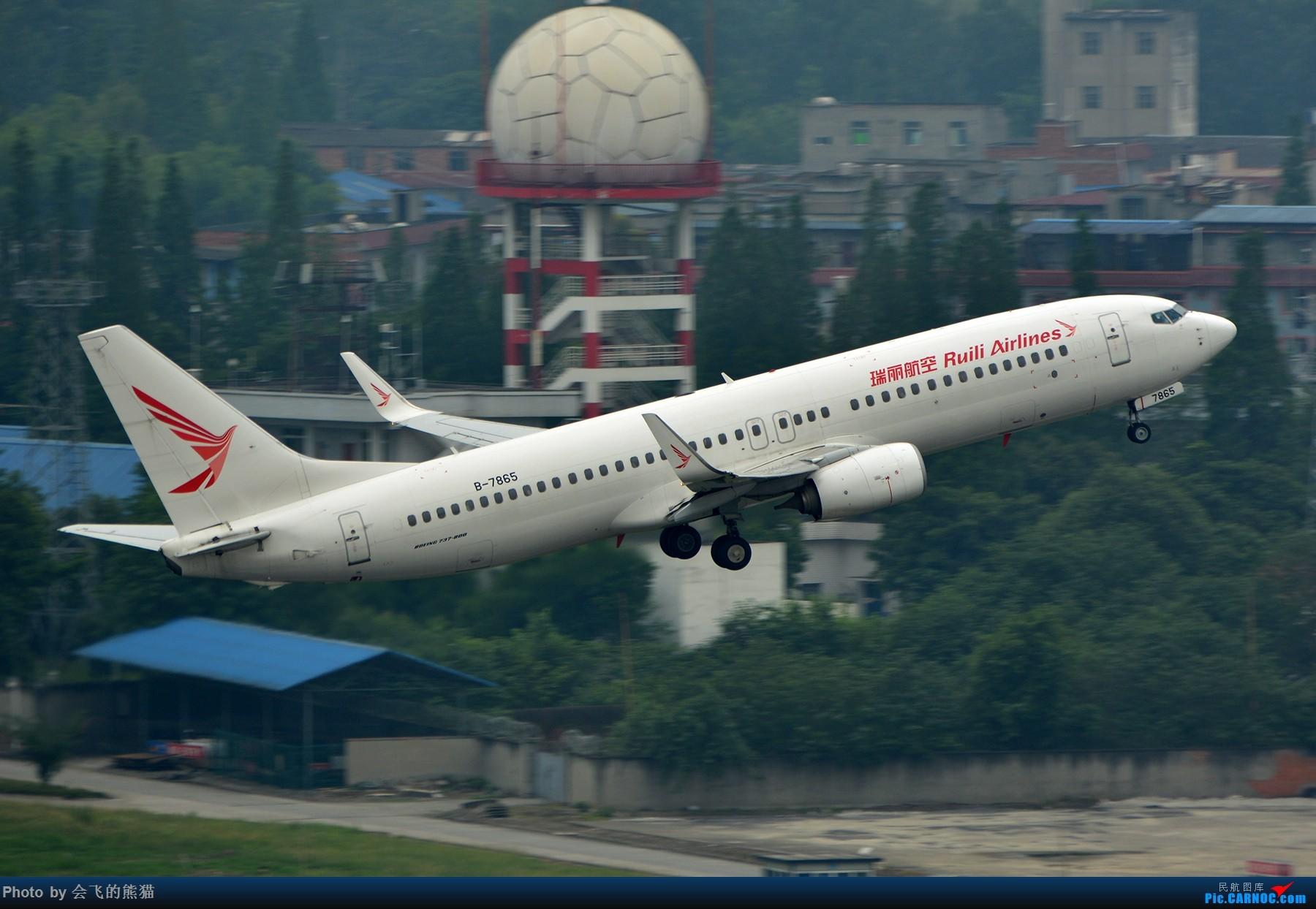 Re:[原创]勒是成都 BOEING 737-800 B-7865 中国成都双流国际机场