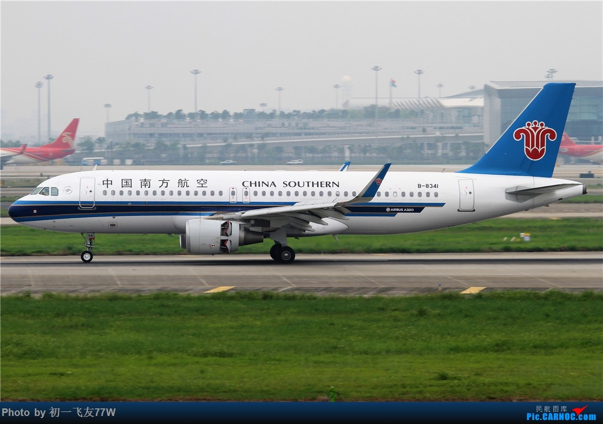 Re:[原创]CAN的老地方,巴斯光年调戏广州飞友 AIRBUS A320-200 B-8341