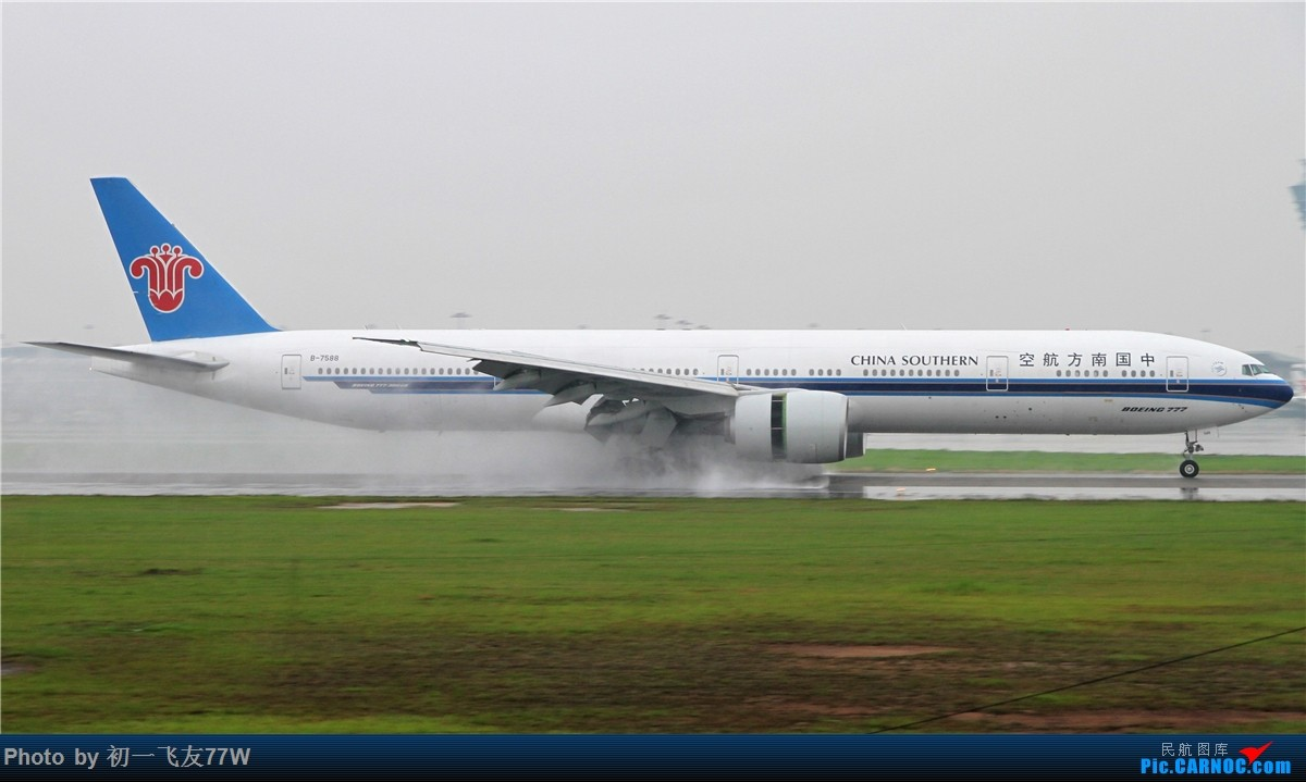 Re:CAN的老地方,巴斯光年调戏广州飞友 BOEING 777-300ER B-7588