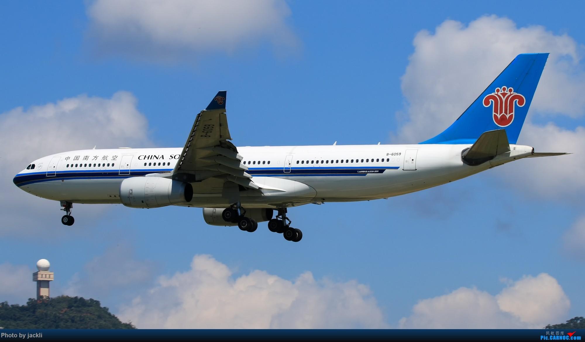 Re:[原创]【JackLi】航展之外的繁忙--近期珠海机场拍机~ AIRBUS A330-200 B-6059 中国珠海金湾机场