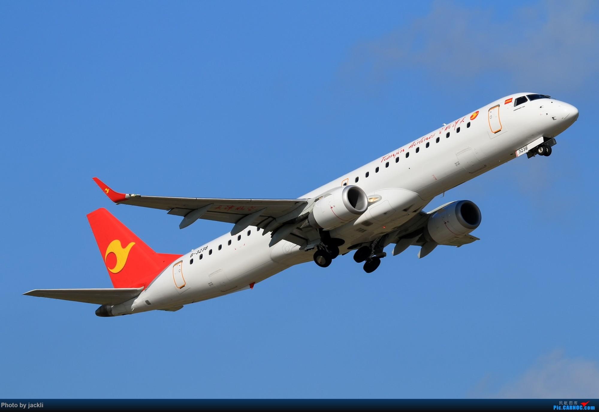 Re:[原创]【JackLi】航展之外的繁忙--近期珠海机场拍机~ EMBRAER E-195 B-3238 中国珠海金湾机场