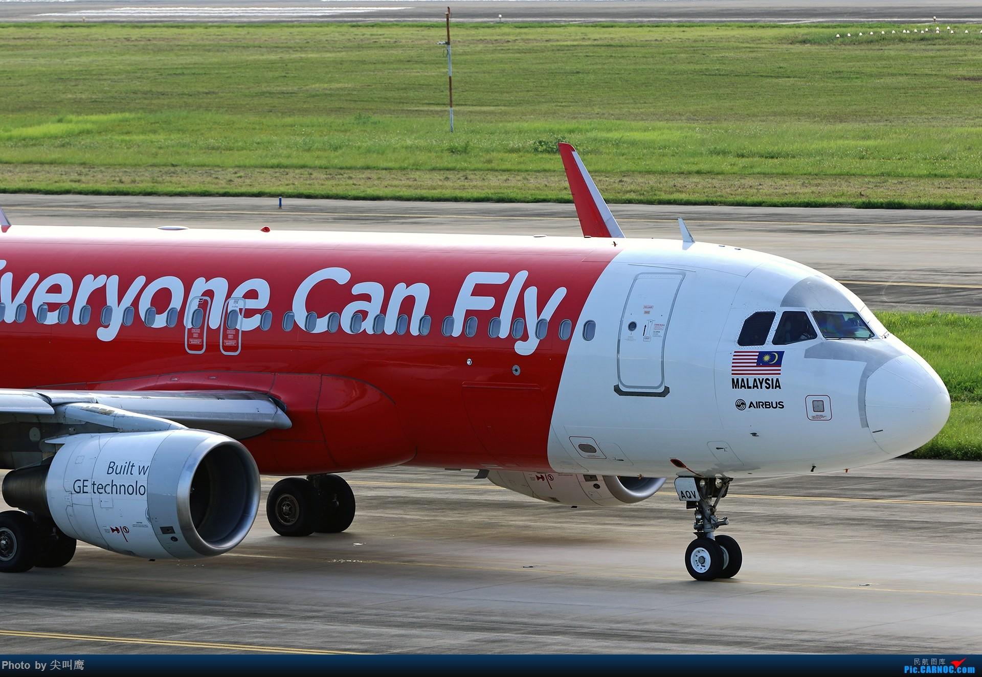 Re:[原创]NNG的亚航小合集 AIRBUS A320 9M-AQV 中国南宁吴圩国际机场