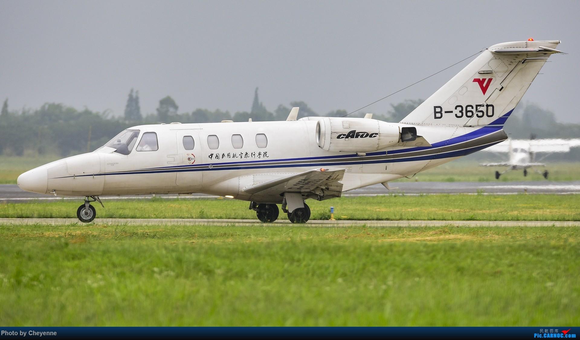 Re:[原创]鸭子河边的日常 CESSNA 525 B-3650 中国广汉机场