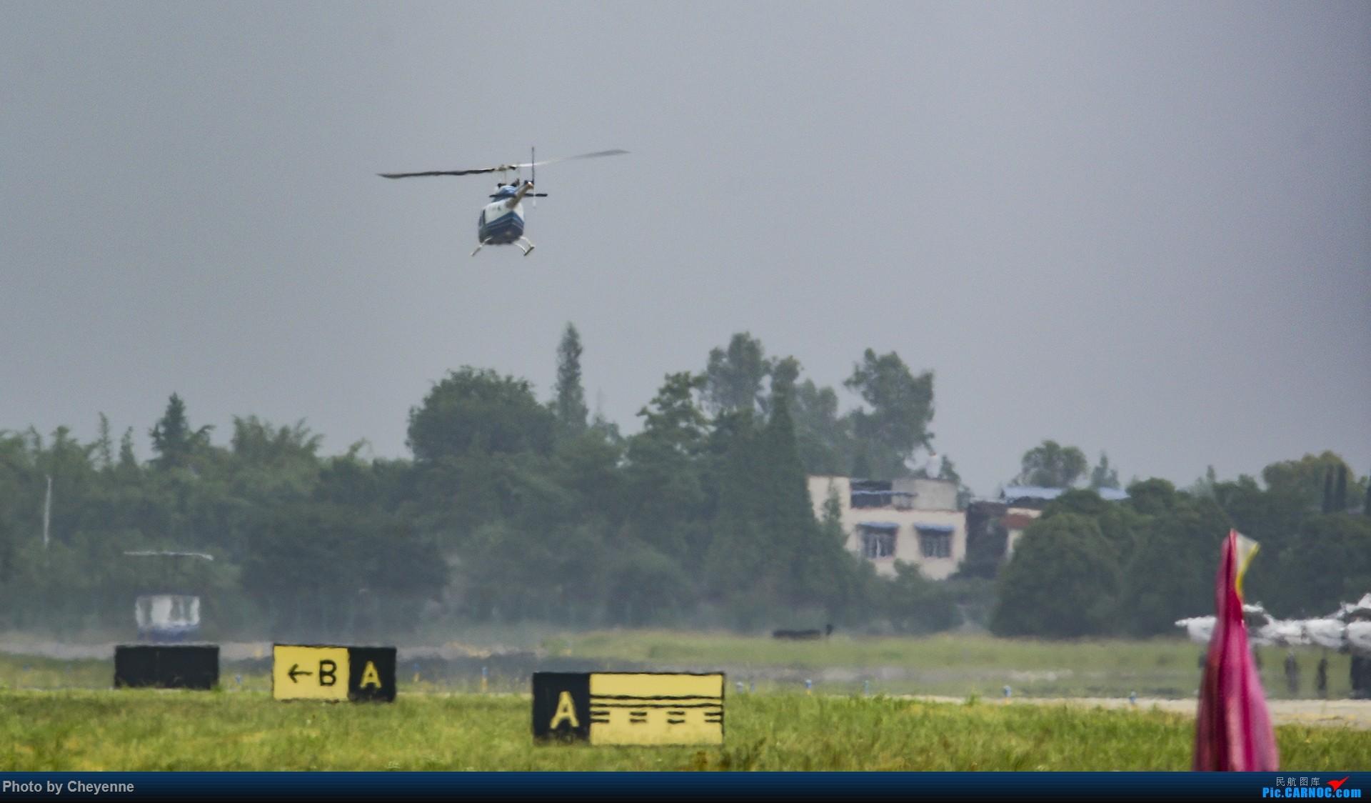 Re:[原创]鸭子河边的日常 BELL 206B B-7741 中国广汉机场