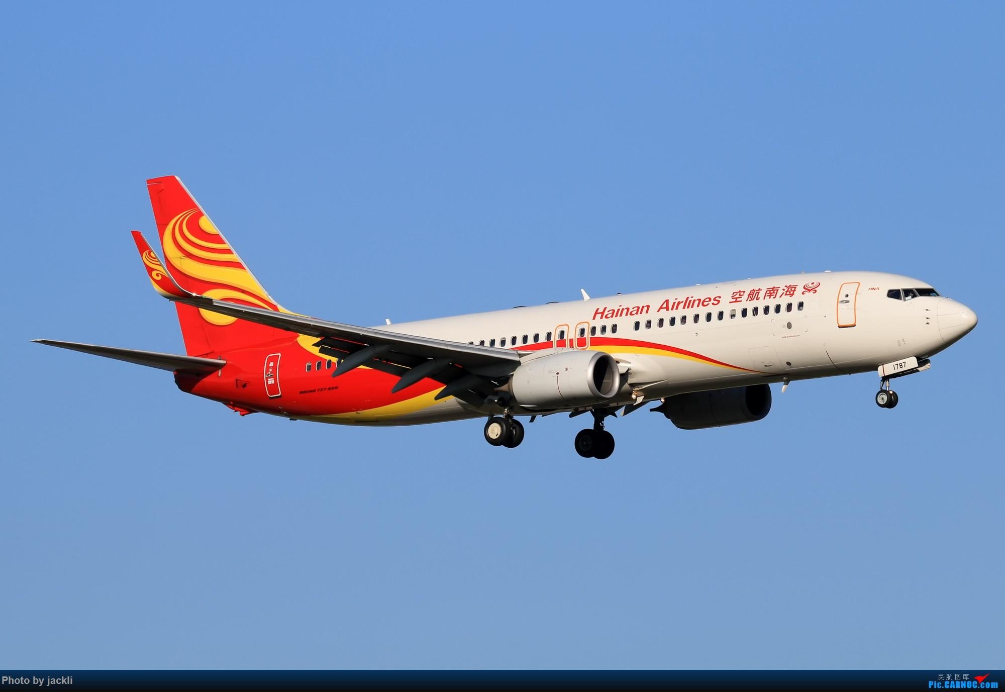 Re:[原创]【JackLi】抓住好天的尾巴~川航330在珠海训练~ BOEING 737-800 B-1787 中国珠海金湾机场