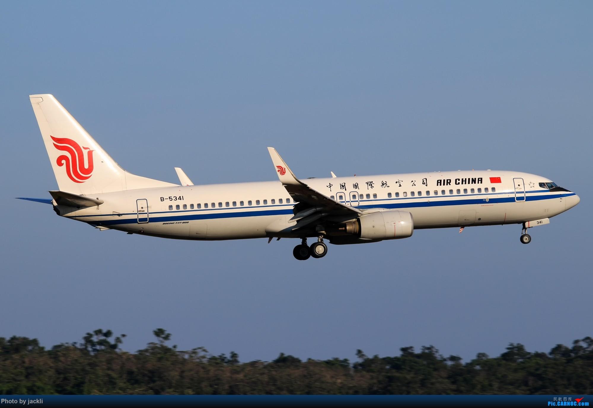 Re:[原创]【JackLi】抓住好天的尾巴~川航330在珠海训练~ BOEING 737-800 B-5341 中国珠海金湾机场