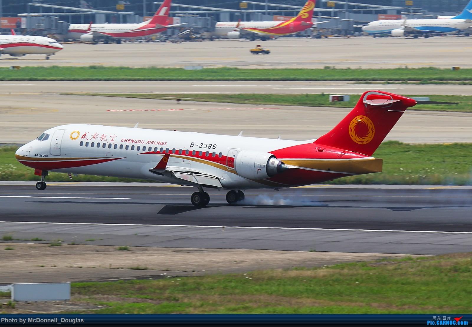 Re:[原创]【上海飞友会】虹桥诡异擦烟位的高清arj一组 COMAC ARJ21-700 B-3386 中国上海虹桥国际机场