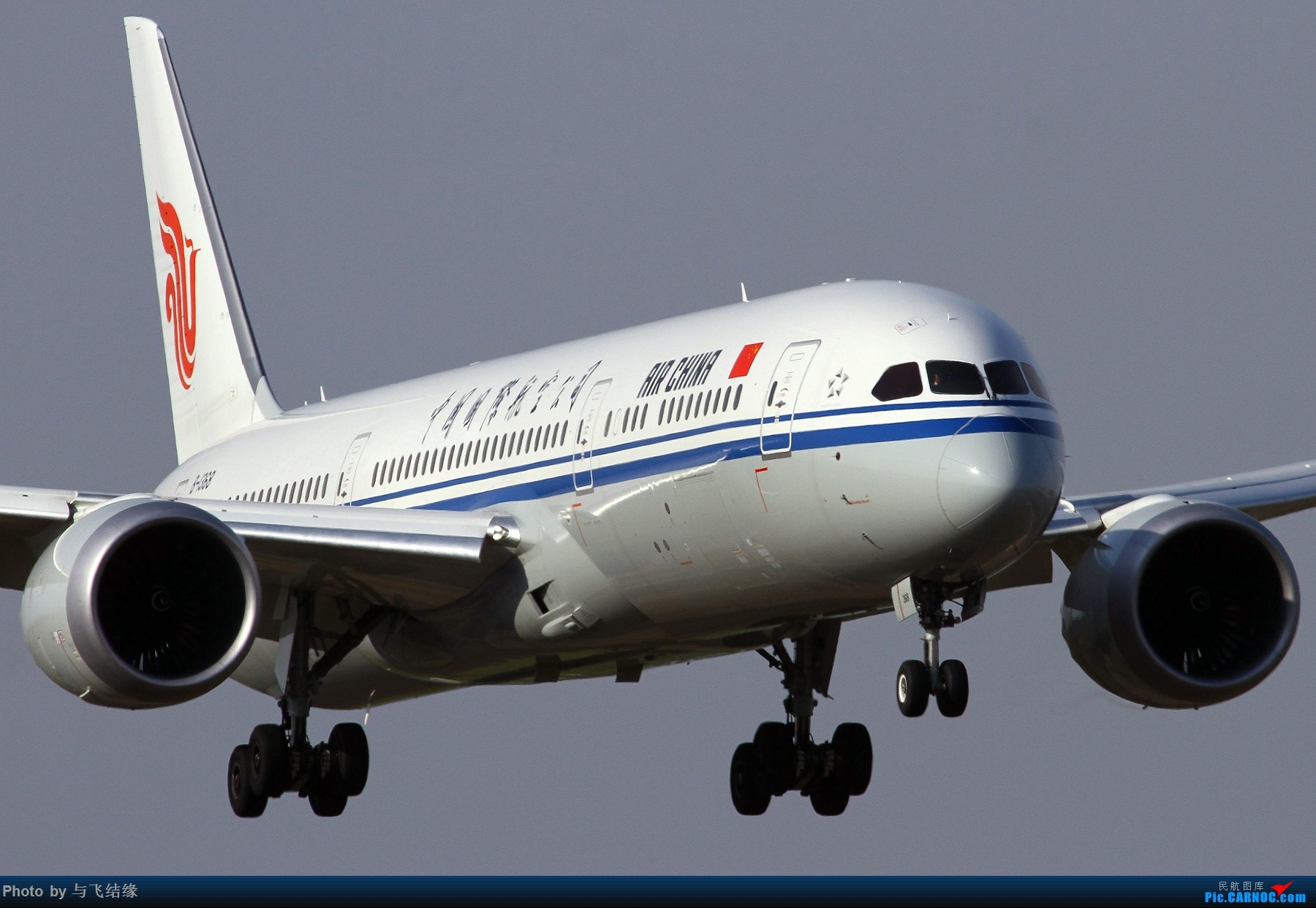 Re:[原创]波音787进入中国市场六周年。 BOEING 787-9 B-1368 中国北京首都国际机场