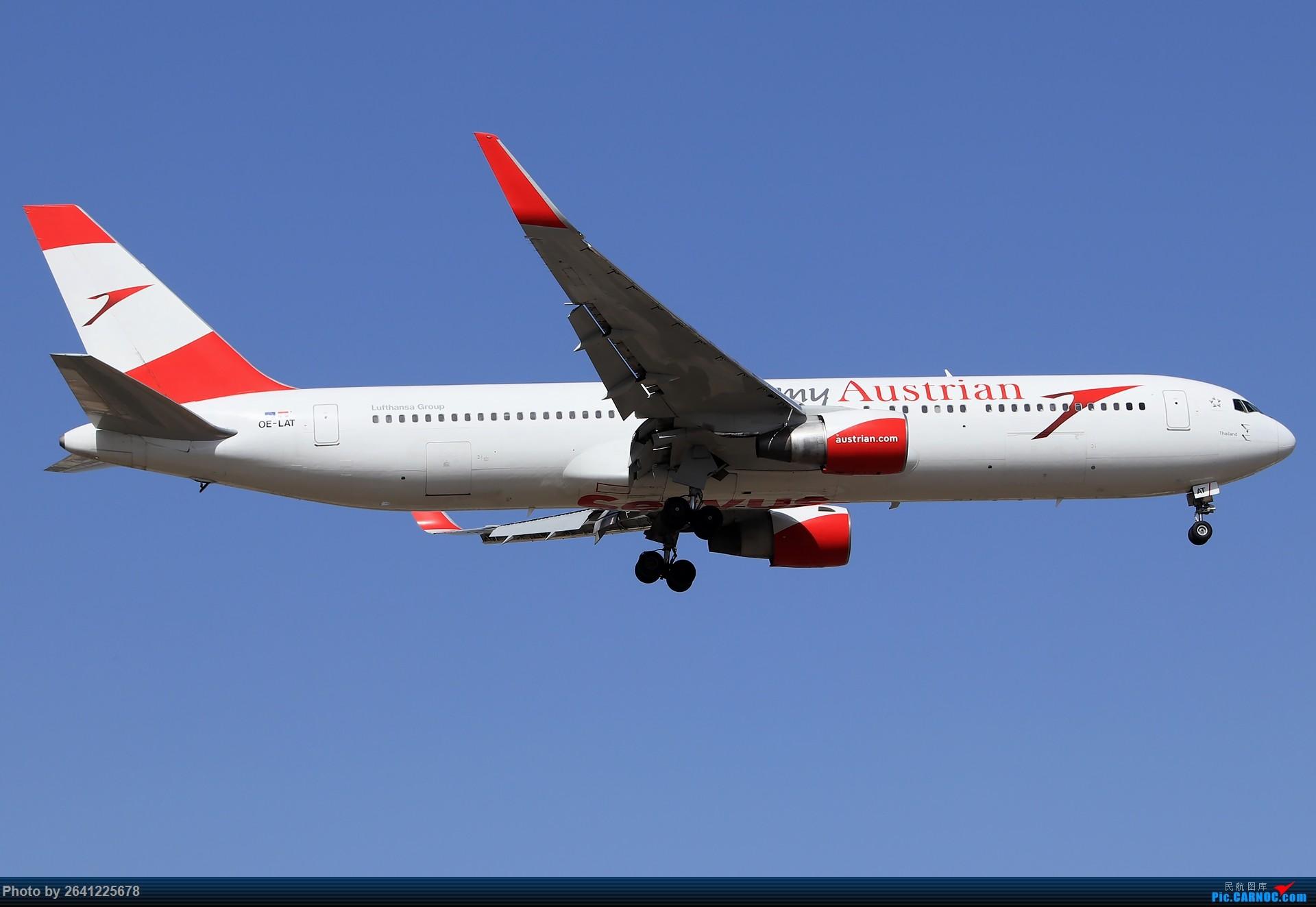 Re:[原创]【测评】腾龙70-210mm F/4 (A034)试拍 BOEING 767-300 OE-LAT 中国北京首都国际机场