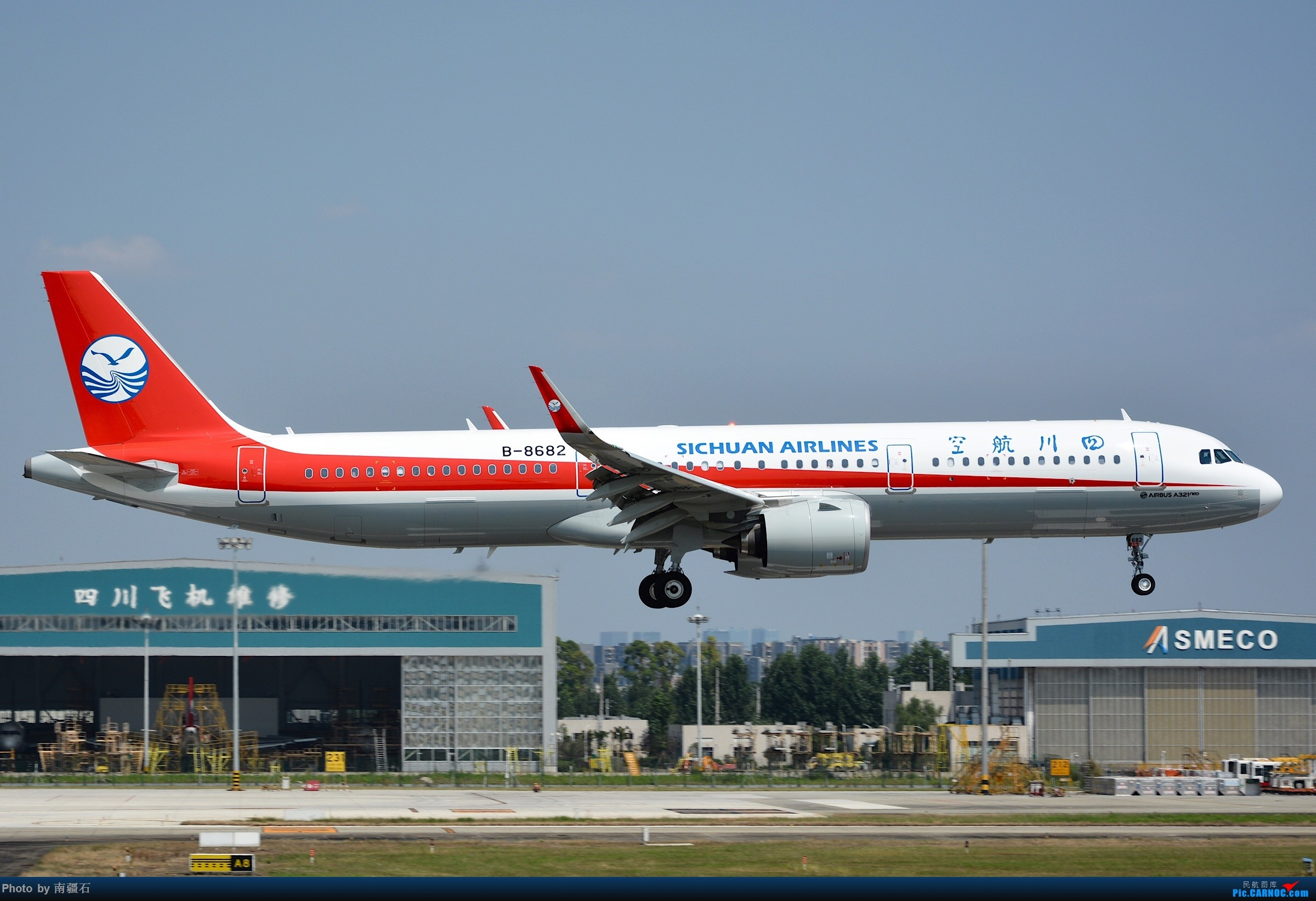 Re:[原创]四川航空 a321neo B-8682 AIRBUS A321NEO B-8682 中国成都双流国际机场