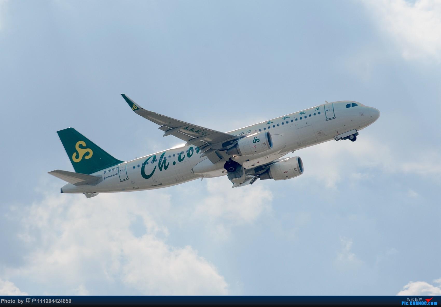 Re:[原创]难得长水刮北风 AIRBUS A320-200 B-1027 中国昆明长水国际机场