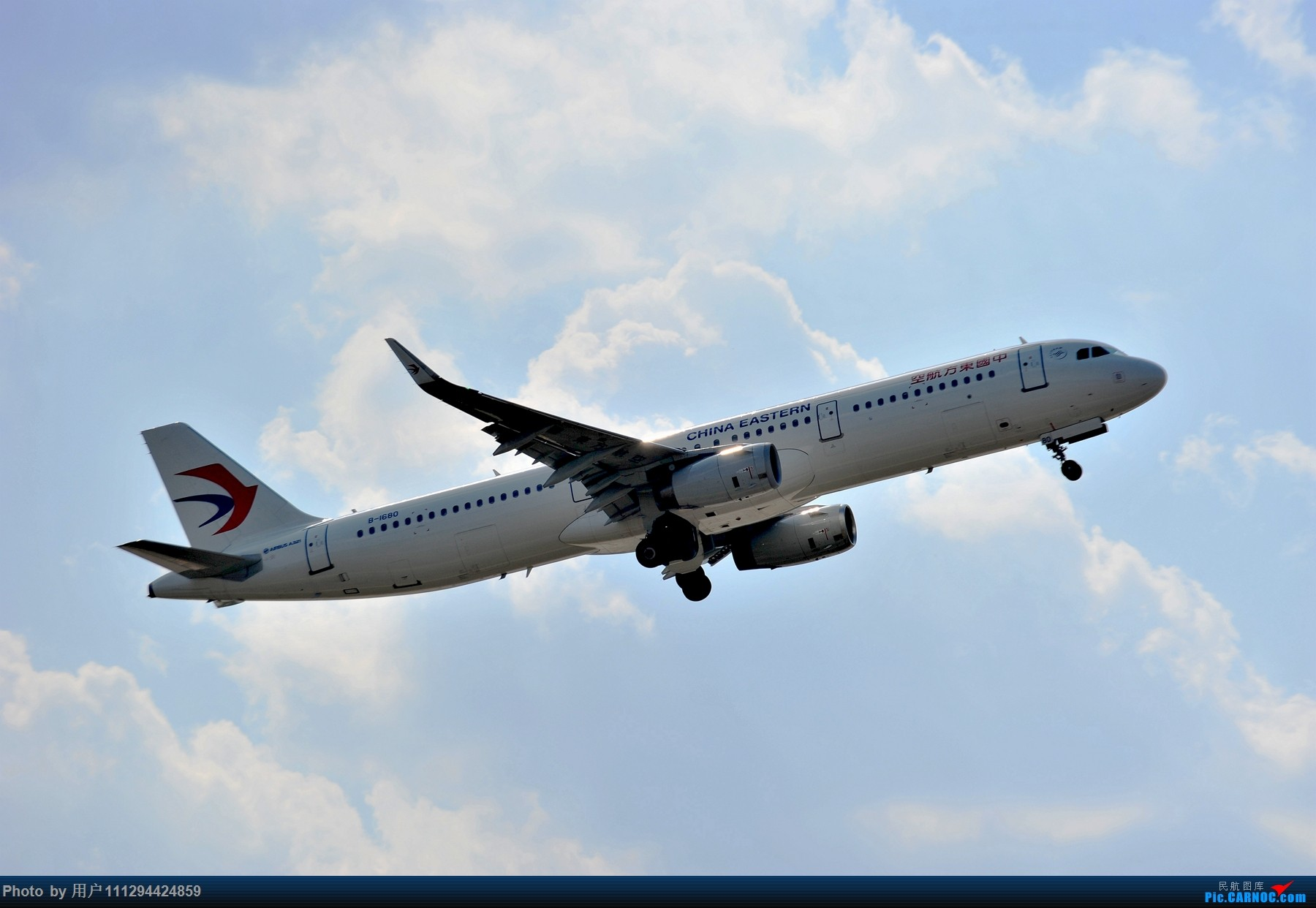 Re:难得长水刮北风 AIRBUS A321-200 B-1680 中国昆明长水国际机场