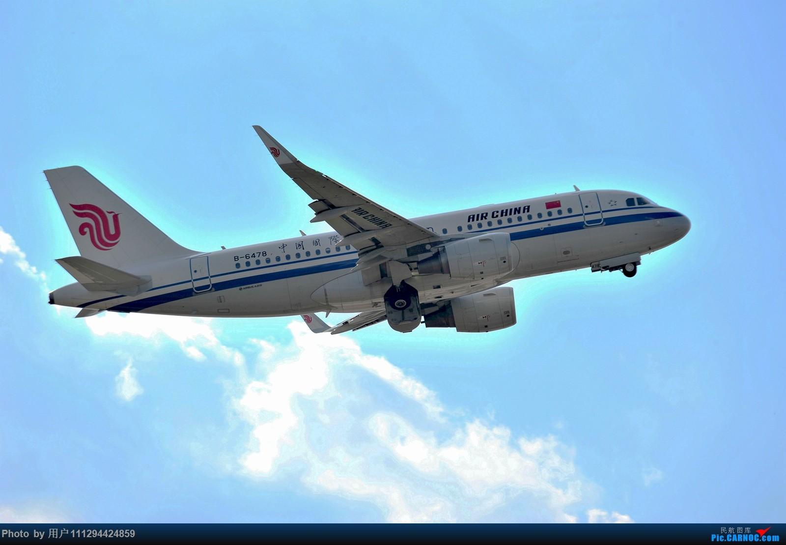 Re:[原创]难得长水刮北风 AIRBUS A319-100 B-6478 中国昆明长水国际机场