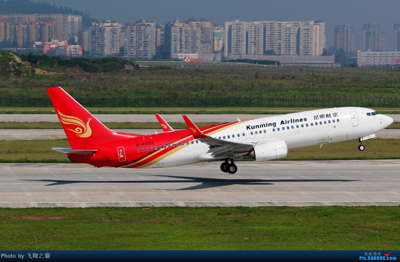 Re:[原创]CKG拍机(酷热拍机,收获满满!) BOEING 737-800 B-6492 重庆江北国际机场