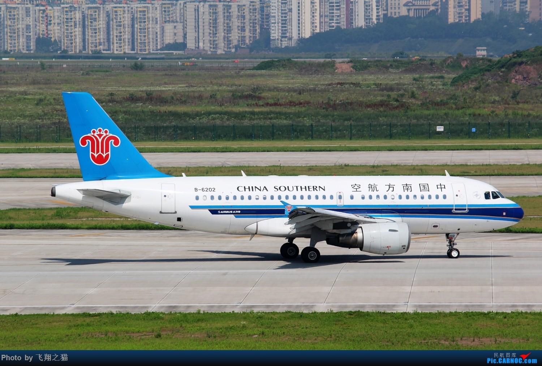 Re:[原创]CKG拍机(酷热拍机,收获满满!) AIRBUS A319 B-6202 重庆江北国际机场
