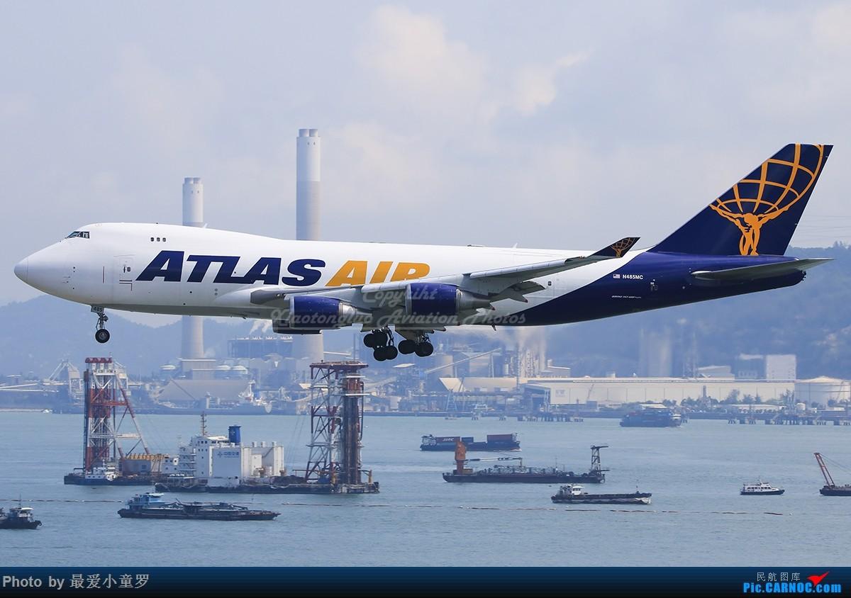 [原创]潜水冒泡——报告最近动向,香港747三张 BOEING 747-400 N482MC 中国香港国际机场