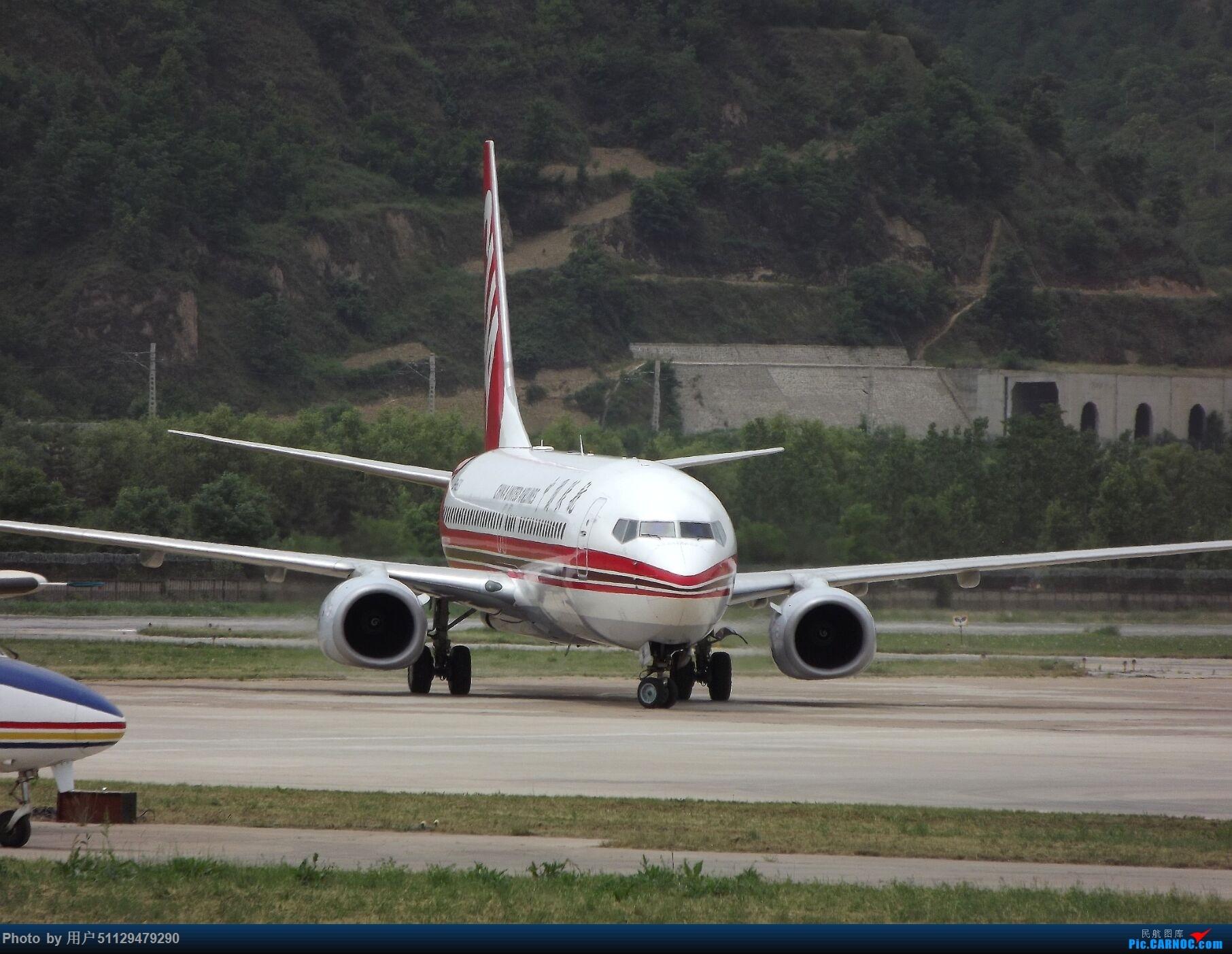 [原创]CUA 737-800 BOEING 737-800 B-1523 中国延安二十里铺机场