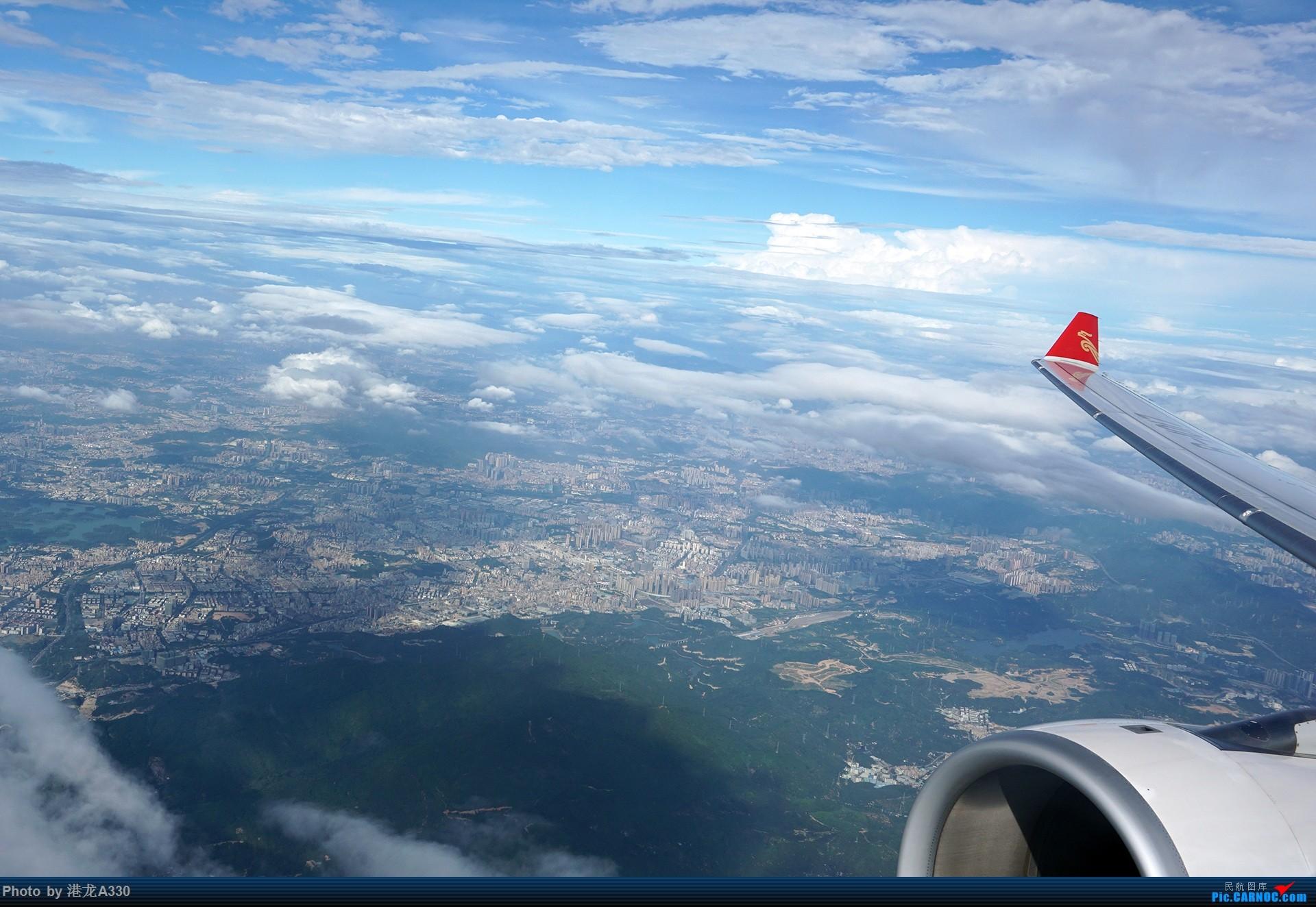 [原创]真没留坑,这回真更完了!Kunpeng's voyage:深圳航空A333高级经济舱京深线小记