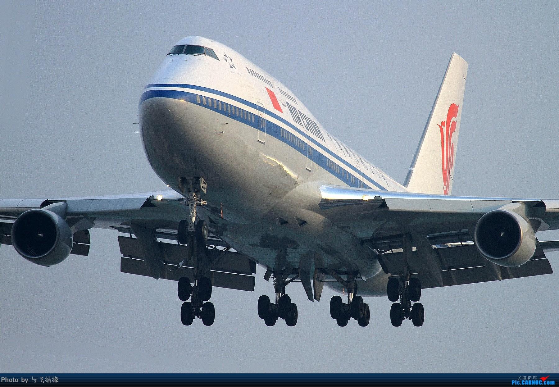 Re:[原创]中国国际航空Boeing 747-400,B-2447. BOEING 747-400 B-2447 中国北京首都国际机场