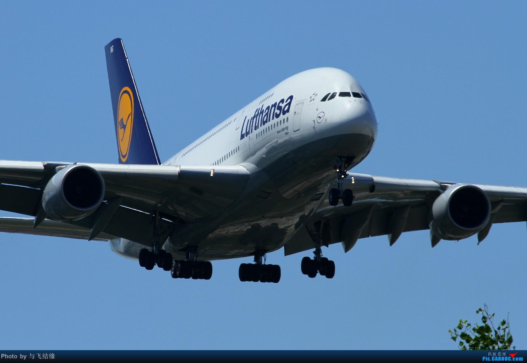 Re:[原创]近进中的汉莎航空Airbus A380-800,D-AIMG特写。 AIRBUS A380-800 D-AIMG 中国北京首都国际机场