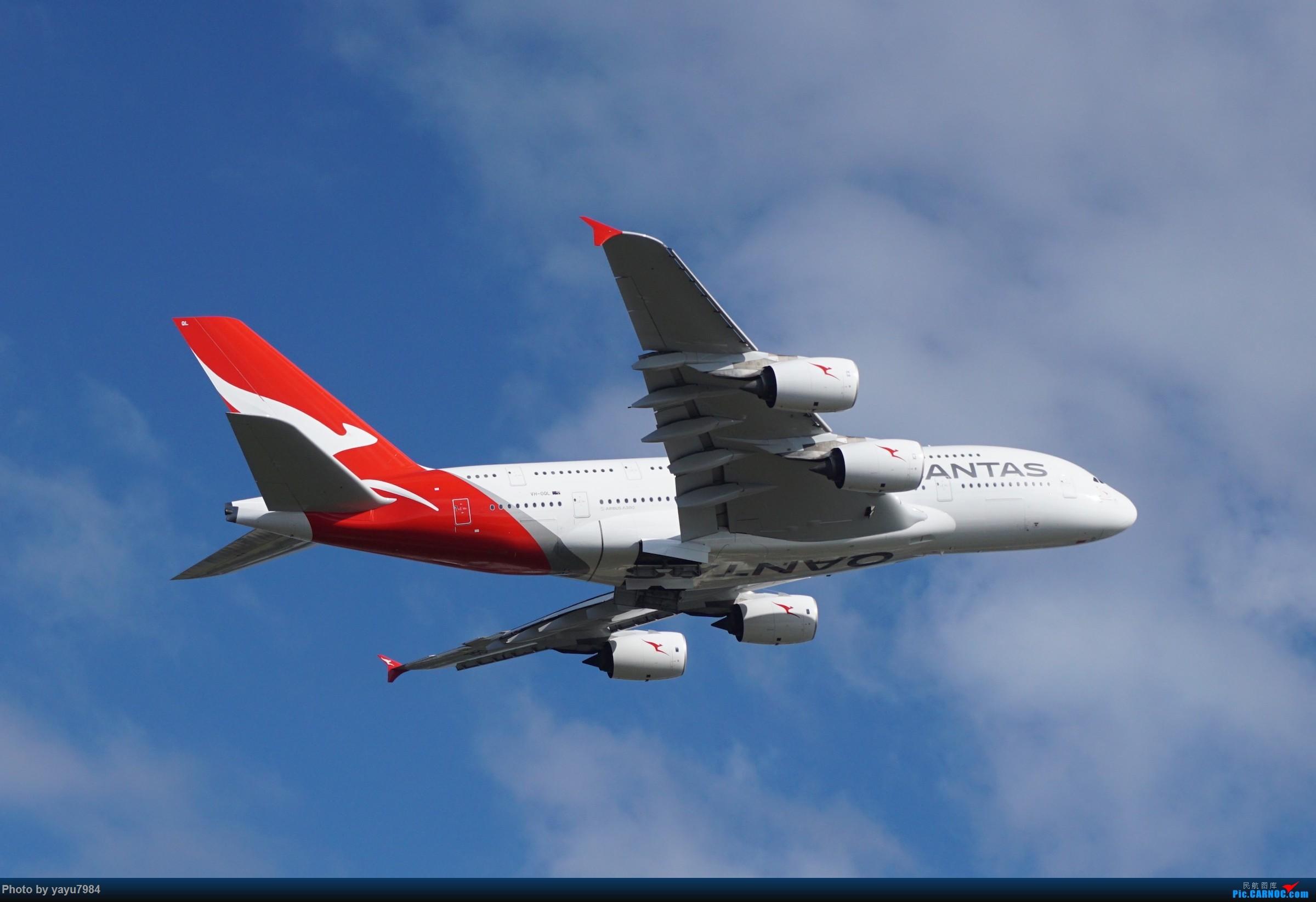 Re:[原创][SYD] 近期随摄,收获颇多 AIRBUS A380-800 VH-OQL 澳大利亚悉尼金斯福德·史密斯机场