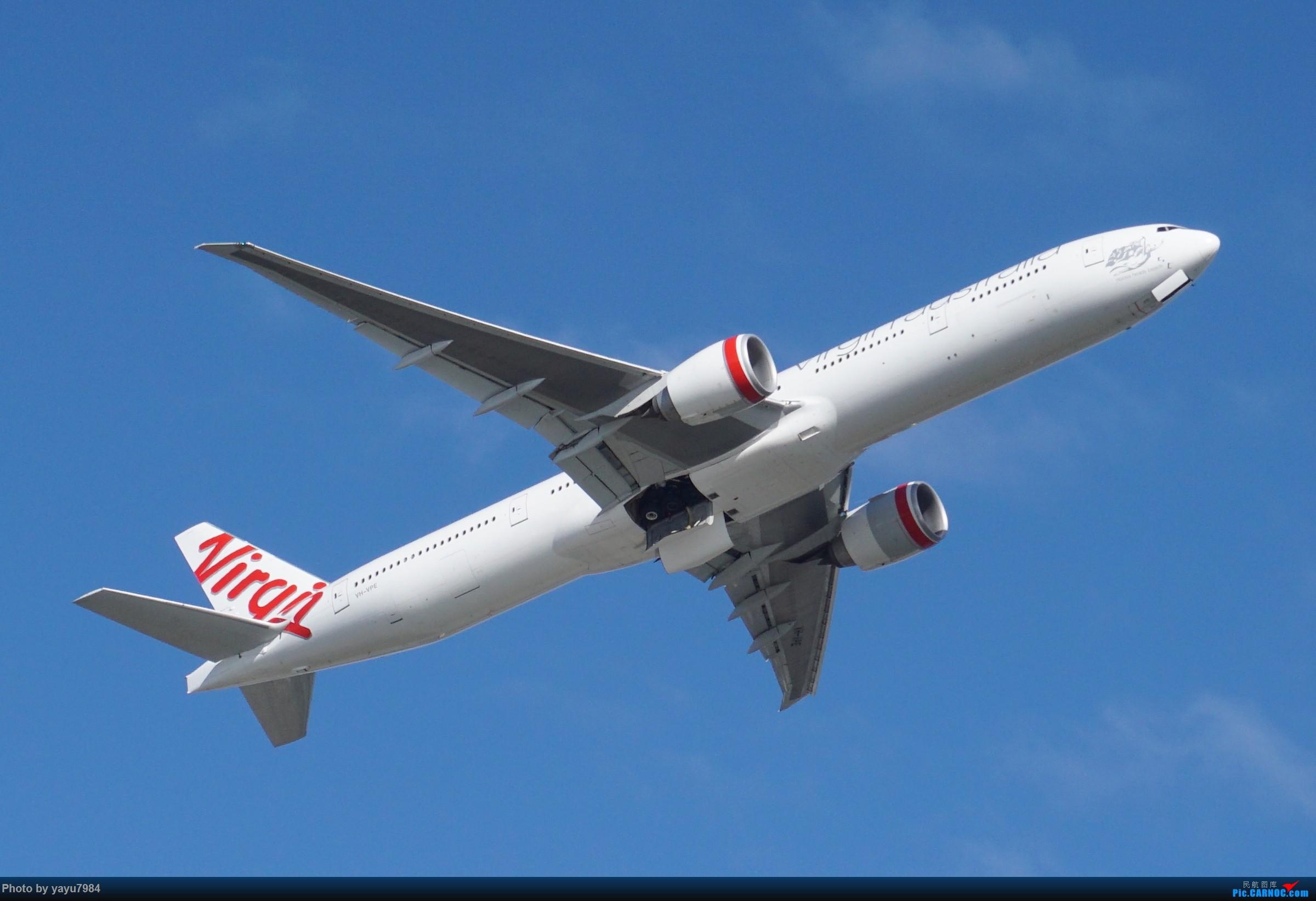 Re:[SYD] 近期随摄,收获颇多 BOEING 777-300ER VH-VPE 澳大利亚悉尼金斯福德·史密斯机场
