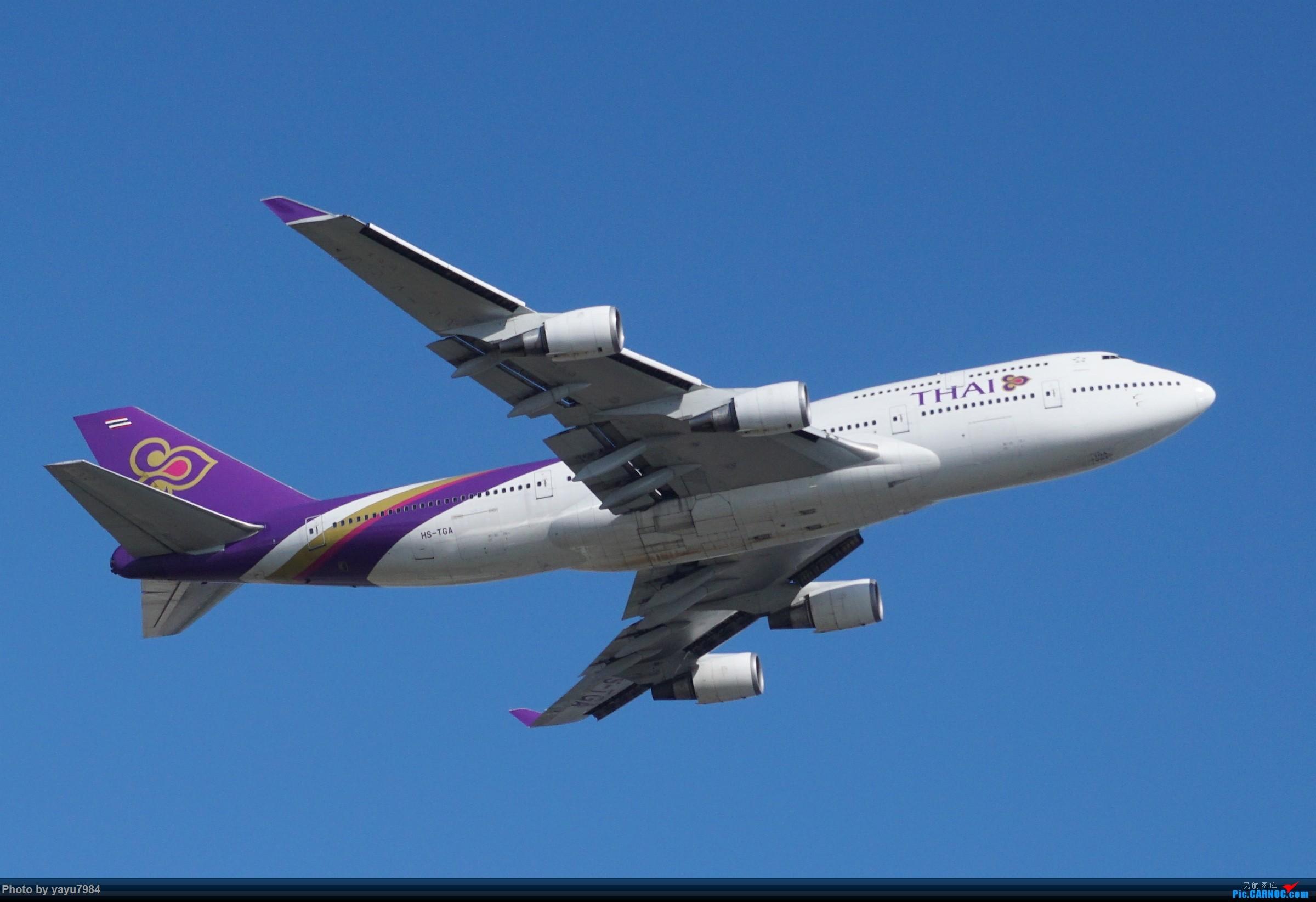 Re:[原创][SYD] 近期随摄,收获颇多 BOEING 747-400 HS-TGA 澳大利亚悉尼金斯福德·史密斯机场
