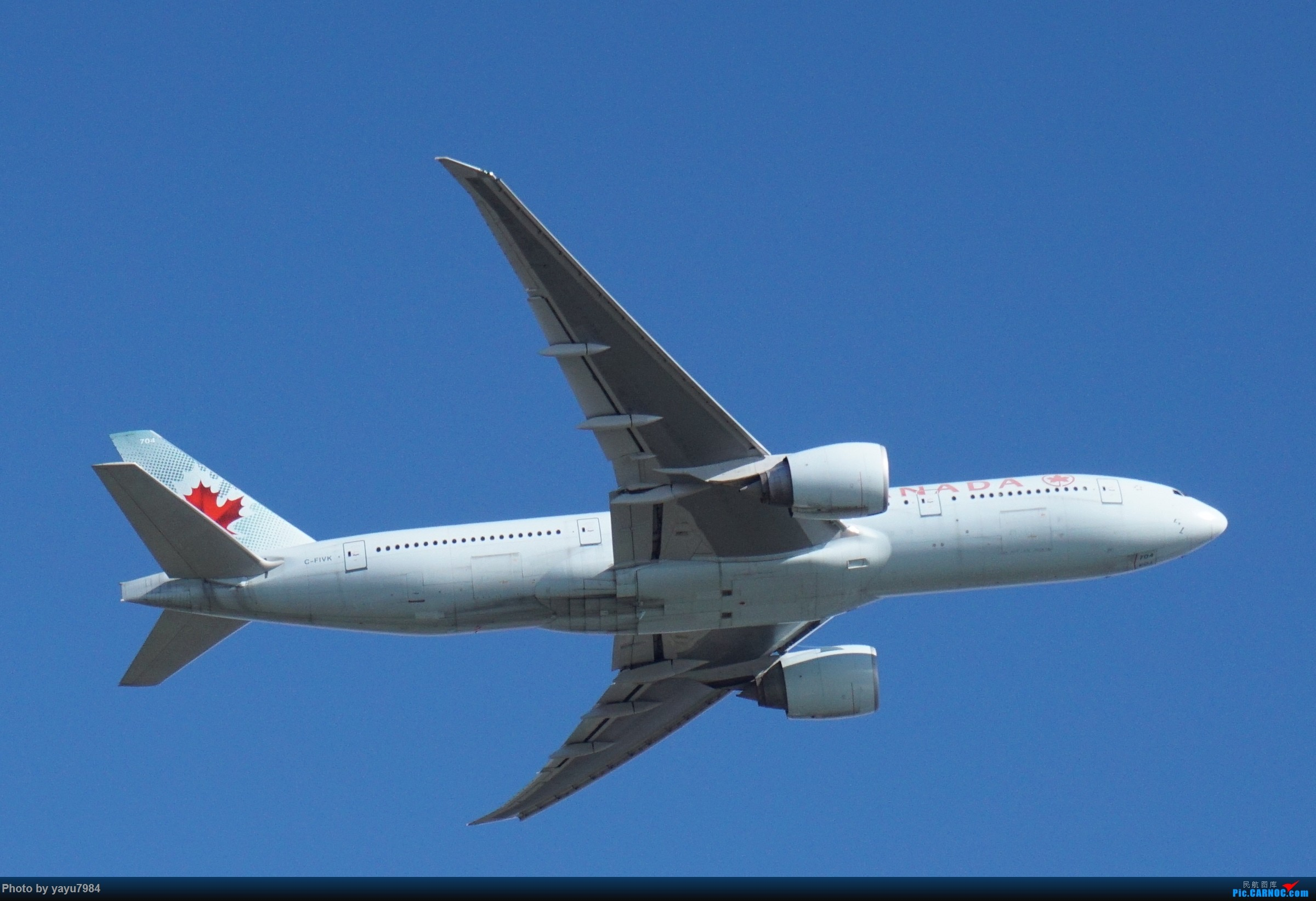 Re:[原创][SYD] 近期随摄,收获颇多 BOEING 777-200LR C-FIVK 澳大利亚悉尼金斯福德·史密斯机场