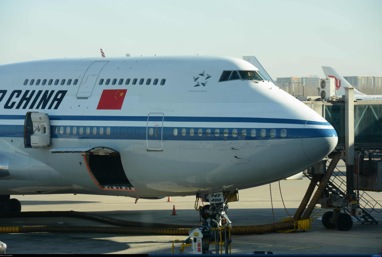 补发2017年圣诞节首都机场到达厅拍机 BOEING 747-400 B-2445 中国北京首都国际机场