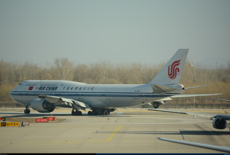Re:补发2017年圣诞节首都机场到达厅拍机 BOEING 747-400 B-2445 中国北京首都国际机场