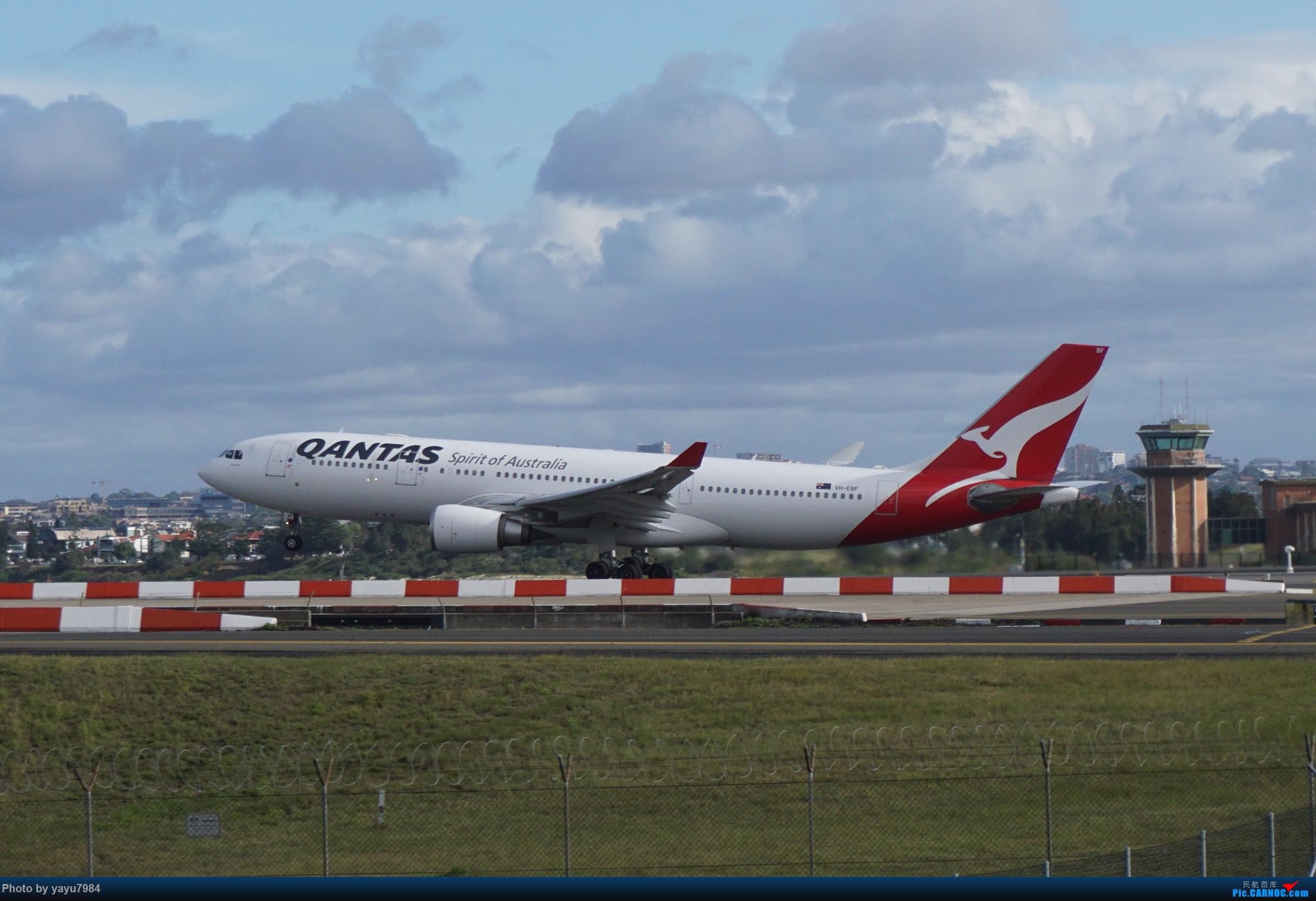 Re:[原创][SYD] 近期随摄,收获颇多 AIRBUS A330-200 VH-EBF 澳大利亚悉尼金斯福德·史密斯机场